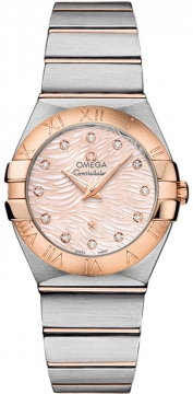 Buy this new Omega Constellation Brushed 27mm 123.20.27.60.57.004 ladies watch for the discount price of £3,384.00. UK Retailer.