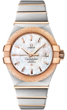 Omega Constellation Co-Axial Automatic 31mm Ladies watch, model number - 123.20.31.20.05.001, discount price of £4,640.00 from The Watch Source