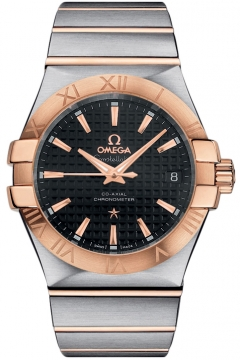 Omega Constellation Co-Axial Automatic 35mm Mens watch, model number - 123.20.35.20.01.001, discount price of £3,645.00 from The Watch Source