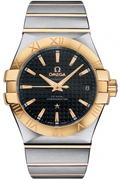 Omega Constellation Co-Axial Automatic 35mm Mens watch, model number - 123.20.35.20.01.002, discount price of £3,645.00 from The Watch Source