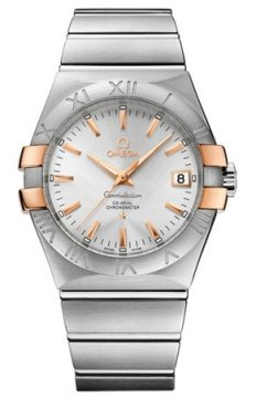 Omega Constellation Co-Axial Automatic 35mm Mens watch, model number - 123.20.35.20.02.003, discount price of £3,030.00 from The Watch Source
