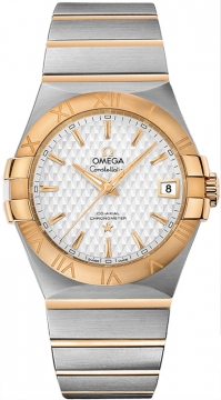 Buy this new Omega Constellation Co-Axial Automatic 35mm 123.20.35.20.02.006 mens watch for the discount price of £4,176.00. UK Retailer.