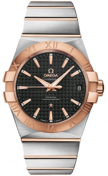 Buy this new Omega Constellation Co-Axial Automatic 38mm 123.20.38.21.01.001 mens watch for the discount price of £5,328.00. UK Retailer.