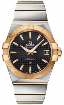 Omega Constellation Co-Axial Automatic 38mm Mens watch, model number - 123.20.38.21.01.002, discount price of £5,328.00 from The Watch Source