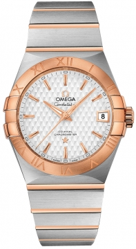 Buy this new Omega Constellation Co-Axial Automatic 38mm 123.20.38.21.02.008 mens watch for the discount price of £5,328.00. UK Retailer.