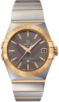 Buy this new Omega Constellation Co-Axial Automatic 38mm 123.20.38.21.06.001 mens watch for the discount price of £5,328.00. UK Retailer.