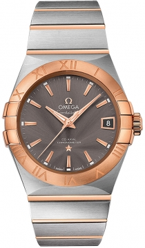 Buy this new Omega Constellation Co-Axial Automatic 38mm 123.20.38.21.06.002 mens watch for the discount price of £6,192.00. UK Retailer.