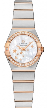 Buy this new Omega Constellation Star 24mm 123.25.24.60.05.002 ladies watch for the discount price of £4,248.00. UK Retailer.