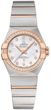 Omega Constellation Co-Axial Automatic 27mm 123.25.27.20.55.006