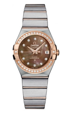 Omega Constellation Co-Axial Automatic 27mm Ladies watch, model number - 123.25.27.20.57.001, discount price of £6,763.00 from The Watch Source