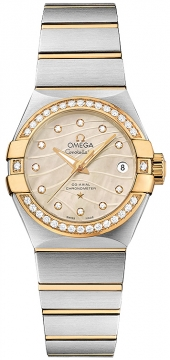 Buy this new Omega Constellation Co-Axial Automatic 27mm 123.25.27.20.57.002 ladies watch for the discount price of £7,056.00. UK Retailer.