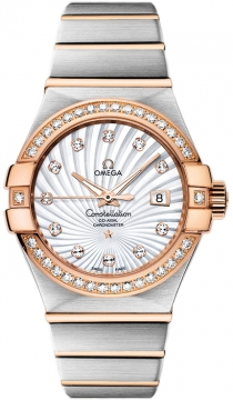 Omega Constellation Co-Axial Automatic 31mm Ladies watch, model number - 123.25.31.20.55.001, discount price of £7,992.00 from The Watch Source