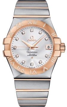 Buy this new Omega Constellation Co-Axial Automatic 35mm 123.25.35.20.52.003 mens watch for the discount price of £8,482.00. UK Retailer.