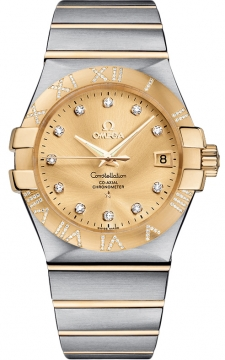 Buy this new Omega Constellation Co-Axial Automatic 35mm 123.25.35.20.58.002 mens watch for the discount price of £7,344.00. UK Retailer.