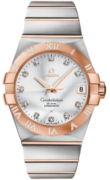 Buy this new Omega Constellation Co-Axial Automatic 38mm 123.25.38.21.52.003 mens watch for the discount price of £11,403.00. UK Retailer.