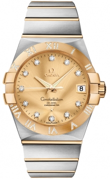 Buy this new Omega Constellation Co-Axial Automatic 38mm 123.25.38.21.58.002 mens watch for the discount price of £9,225.00. UK Retailer.