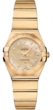 Buy this new Omega Constellation Brushed 24mm 123.50.24.60.57.001 ladies watch for the discount price of £8,028.00. UK Retailer.