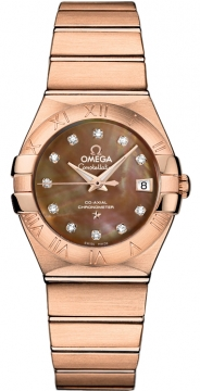 Omega Constellation Co-Axial Automatic 27mm 123.50.27.20.57.001
