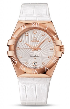 Buy this new Omega Constellation Quartz 35mm 123.53.35.60.52.001 ladies watch for the discount price of £8,364.00. UK Retailer.