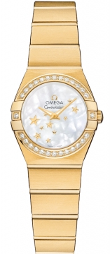 Omega Constellation Star 24mm Ladies watch, model number - 123.55.24.60.05.001, discount price of £9,180.00 from The Watch Source