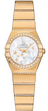 Buy this new Omega Constellation Star 24mm 123.55.24.60.05.002 ladies watch for the discount price of £12,771.00. UK Retailer.