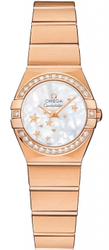 Omega Constellation Star 24mm Ladies watch, model number - 123.55.24.60.05.003, discount price of £9,180.00 from The Watch Source