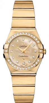 Buy this new Omega Constellation Brushed 24mm 123.55.24.60.57.001 ladies watch for the discount price of £9,612.00. UK Retailer.