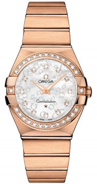 Buy this new Omega Constellation Brushed 27mm 123.55.27.60.55.015 ladies watch for the discount price of £11,268.00. UK Retailer.