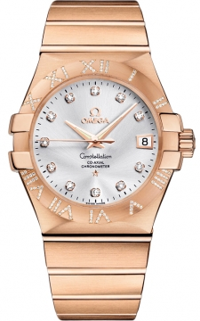 Buy this new Omega Constellation Co-Axial Automatic 35mm 123.55.35.20.52.003 mens watch for the discount price of £16,290.00. UK Retailer.