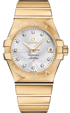 Omega Constellation Co-Axial Automatic 35mm Mens watch, model number - 123.55.35.20.52.004, discount price of £15,385.00 from The Watch Source