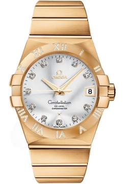 Omega Constellation Co-Axial Automatic 38mm Mens watch, model number - 123.55.38.21.52.008, discount price of £20,515.00 from The Watch Source