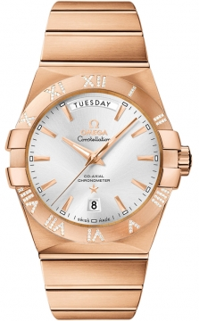 Omega Constellation Co-Axial Automatic Day Date 38mm Mens watch, model number - 123.55.38.22.02.001, discount price of £23,840.00 from The Watch Source