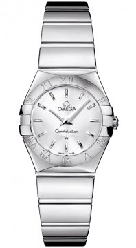 Omega Constellation Polished 24mm Ladies watch, model number - 123.10.24.60.02.002, discount price of £1,512.00 from The Watch Source