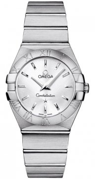 Omega Constellation Brushed 27mm 123.10.27.60.02.001 watch