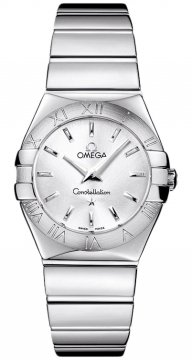 Omega Constellation Polished 27mm Ladies watch, model number - 123.10.27.60.02.002, discount price of £1,584.00 from The Watch Source