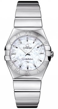 Omega Constellation Polished 27mm Ladies watch, model number - 123.10.27.60.05.002, discount price of £1,545.00 from The Watch Source