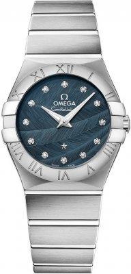 Omega Constellation Brushed 27mm 123.10.27.60.53.001 watch