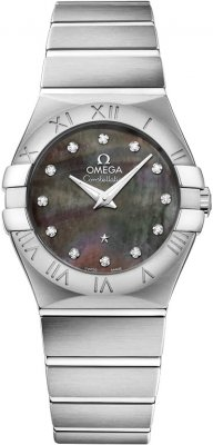 Omega Constellation Brushed 27mm 123.10.27.60.57.003
