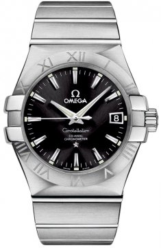 Buy this new Omega Constellation Co-Axial Automatic 35mm 123.10.35.20.01.001 mens watch for the discount price of £2,628.00. UK Retailer.