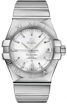 Omega Constellation Co-Axial Automatic 35mm Mens watch, model number - 123.10.35.20.02.001, discount price of £2,350.00 from The Watch Source