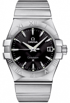 Omega Constellation Quartz 35mm Mens watch, model number - 123.10.35.60.01.001, discount price of £1,656.00 from The Watch Source