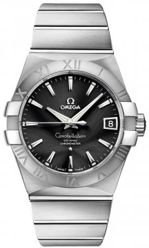 Buy this new Omega Constellation Co-Axial Automatic 38mm 123.10.38.21.01.001 mens watch for the discount price of £3,600.00. UK Retailer.