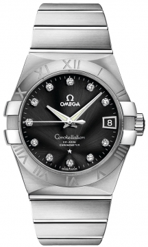Omega Constellation Co-Axial Automatic 38mm Mens watch, model number - 123.10.38.21.51.001, discount price of £4,419.00 from The Watch Source