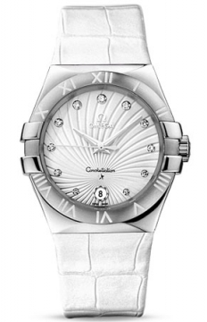 Omega Constellation Quartz 35mm Ladies watch, model number - 123.13.35.60.52.001, discount price of £2,736.00 from The Watch Source