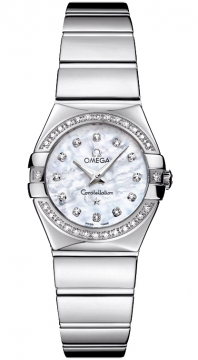 Buy this new Omega Constellation Polished 24mm 123.15.24.60.55.003 ladies watch for the discount price of £3,564.00. UK Retailer.
