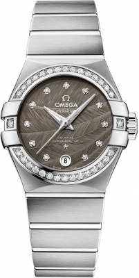 Buy this new Omega Constellation Co-Axial Automatic 27mm 123.15.27.20.56.001 ladies watch for the discount price of £5,580.00. UK Retailer.
