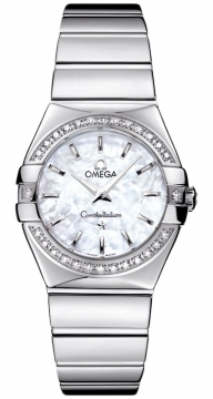 Buy this new Omega Constellation Polished 27mm 123.15.27.60.05.002 ladies watch for the discount price of £3,564.00. UK Retailer.