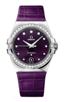 Omega Constellation Quartz 35mm Ladies watch, model number - 123.18.35.60.60.001, discount price of £5,877.00 from The Watch Source