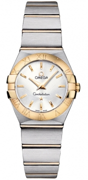 Buy this new Omega Constellation Brushed 24mm 123.20.24.60.02.002 ladies watch for the discount price of £2,412.00. UK Retailer.