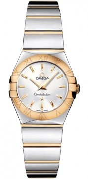 Buy this new Omega Constellation Polished 24mm 123.20.24.60.02.004 ladies watch for the discount price of £2,412.00. UK Retailer.